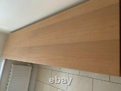 4 Door 2 Drawer large oak sideboard used Great Condition