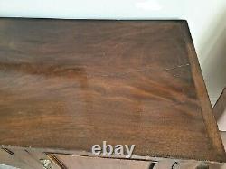 Antique Large Georgian mahogany sideboard