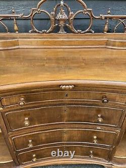 Beautiful Large Serpentine Fronted Sideboard