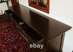 Beautiful Younger Toledo Large Wooden Spanish Inspired Oak Sideboard X-Condition