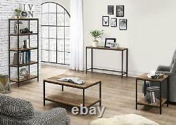 Birlea Urban Industrial Chic Large Door Drawer Sideboard Rustic Metal Wood