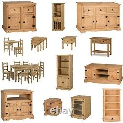 Corona Furniture Solid Pine Living Dining Room Coffee Sideboard Bookcase TV Unit