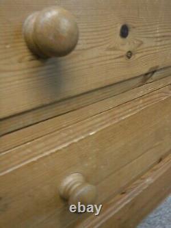 DOVETAILED SOLID WOOD LARGE 2DOOR 4DRAWER WARDROBE H211 W155cm- VISIT OUR SHOP