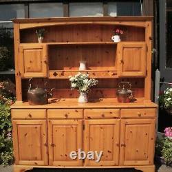 Large DUCAL Pine Welsh Dresser