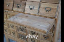 Large Storage Unit Chest of Drawers with Doors Wooden Cabinet Organiser Pine