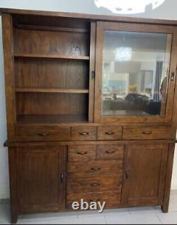 Large Wooden Display Cabinet