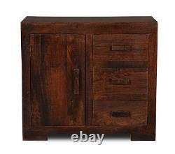 Mango Wood Large Sideboard (h68d)