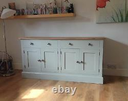 Painted Sideboard unit 2 large drawers over 4 doors