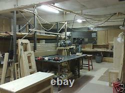 Pine Furniture Classique 6 Door 8 Drawer Ex-large Robe+ Topbox