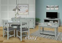 Elgin Easy Construire Des Meubles De Vie Et De Salle À Manger En Verre Gris Et Bondé