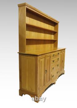 Grande Commode En Chêne Doré 4 Portes D'armoire 4 Tiroirs #2596