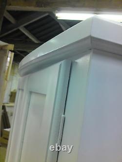 Handmade Classique Bow Fronted White 5 Porte 6 Tiroir Ex-large Armoire+topboxes