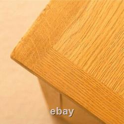 Lanner Oak Large Sideboard Cabinet 3 Porte 3 Tiroir Rustique Armoire En Bois Massif