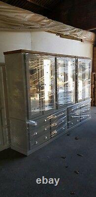 Main Aylesbury Next Grey MID Oak S, Cup, H12 Drawers/6 Doors Large Wardrobe
