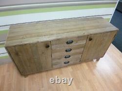 Nouveau Magasin De Meubles Dfs Reclaimed Wood 2 Door 4 Tiroirs
